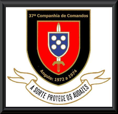ª Companhia de Comandos «A SORTE PROTEGE OS AUDAZES». Serviu Portugal na  Província Ultramarina de Angola 75cec4e15cc